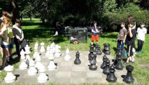 scacchi giganti